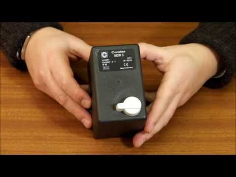 Condor MDR3 Air Compressor Pressure Switch - YouTubeYouTube