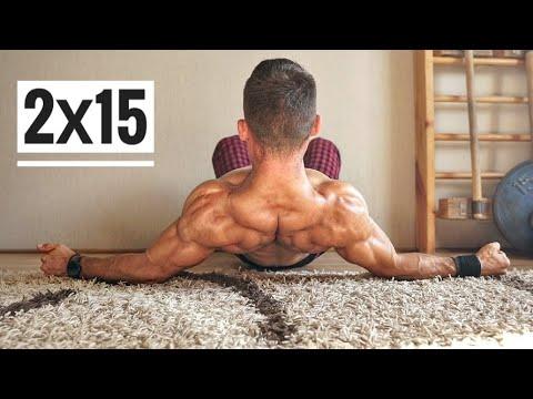 Упражнение для плеч в домашних условиях