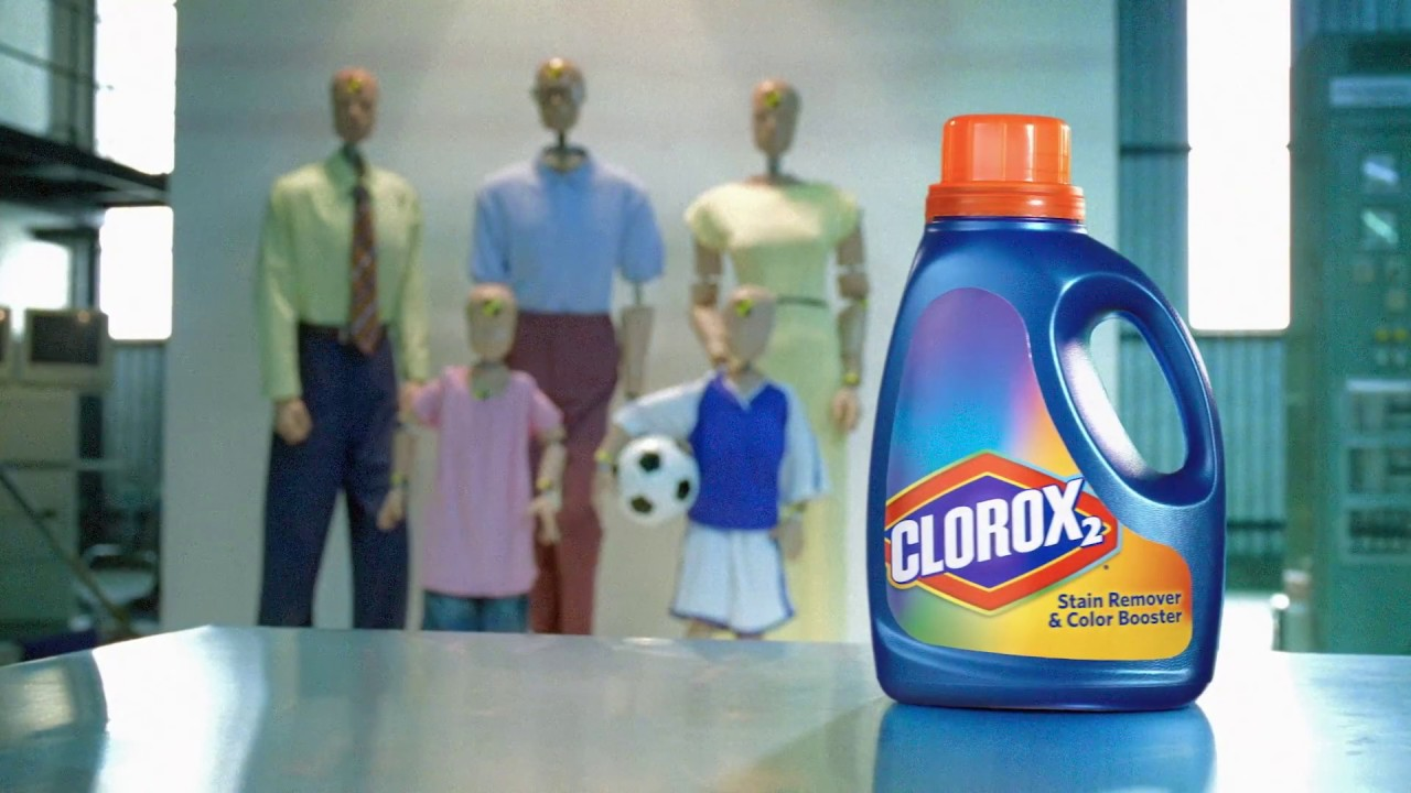 Right Before Your Eyes 'Demo' | Clorox 2® Stain Remover ...