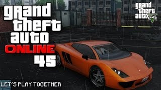 GTA ONLINE TOGETHER #045: Improvisierte Action [LET'S PLAY GTA V]
