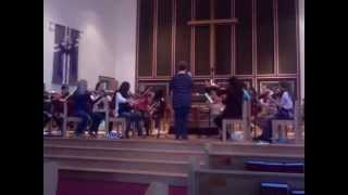 Holst snippit by PEI Senior Singing Strings Orchestra