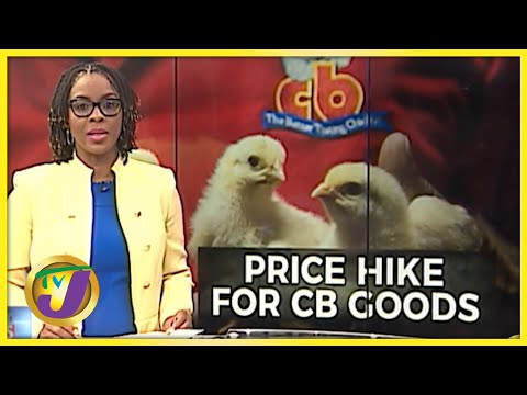 Price Increase for All CB Products   TVJ News - Sept 9 2021