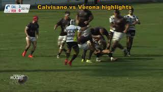 180918 Special Rugby primo segmento best of Calvisano vs Verona