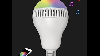 1byone bluetooth led bulb and speaker review