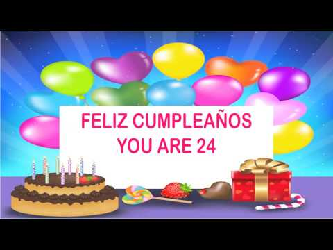 24 Years Old Birthday Song Wishes