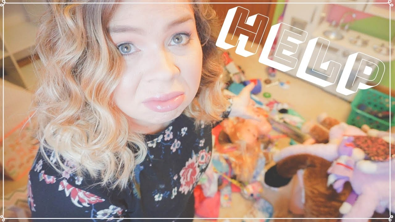 Speed Clean With Me Konmari Kids Room Declutter Organize Huge Mess Cleaning Motivation