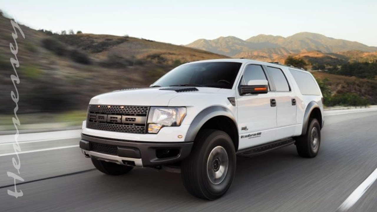 Hennessey VelociRaptor SUV in Action - YouTube