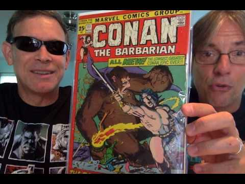 Comic Book Geezers Discuss Marvel's Conan the Barbarian series