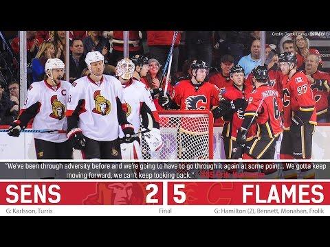 Oct 28: Sens vs. Flames - Post-game Media