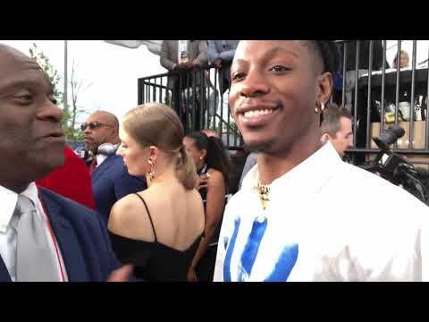 Joey Badass Interview At 2019 NFL Draft Nashville Red Carpet