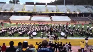 Appalachian State University Marching Band - Tennessee Waltz 9/29/12