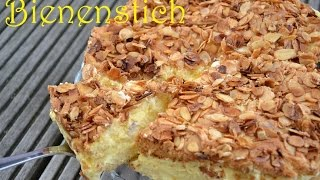 DIY - Bienenstich Selber Machen | Rezept | Kuchen Schnell & Einfach Backen (Back Lounge) Rezepte