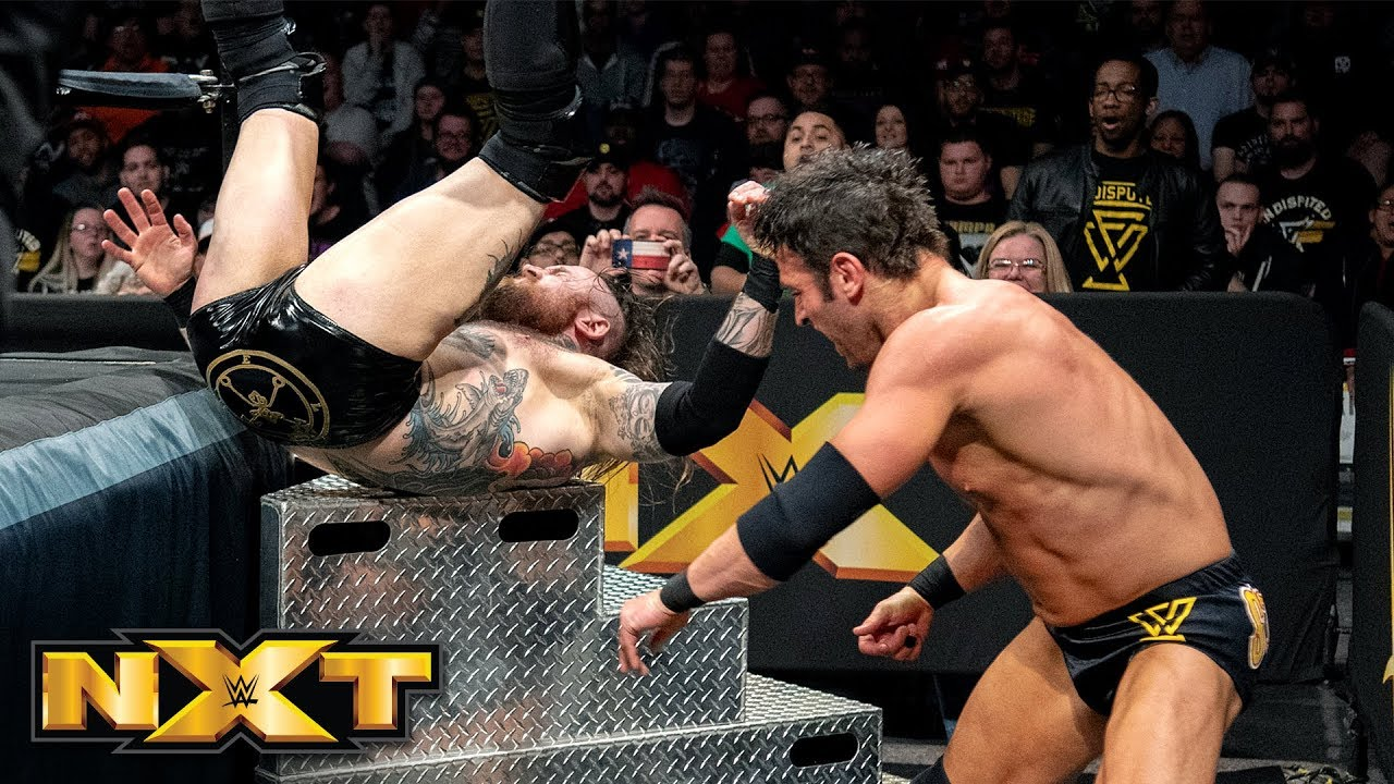 Aleister Black vs. Roderick Strong: WWE NXT, Feb. 20, 2019