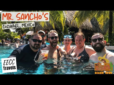 Mr Sancho's In Cozumel Mexico - Inaugural Group Cruise On NCL Getaway - January 2020