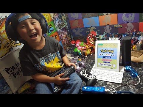 LETS PLAY! POKEMON SHUFFLE! FIRST EVER GAMING VIDEO! XBOX, PLAYSTATION, NINTENDO SWITCH, IPAD, WiiU!