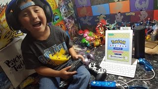 LETS PLAY! POKEMON SHUFFLE! FIRST EVER GAMING VIDEO! XBOX, PLAYSTATION, NINTENDO SWITCH, IPAD, WiiU!