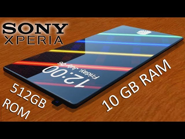 Sony Xperia Z 2019 Concept With 512 Gb Memory And Specifications By Imqiraas Tech Clipzui