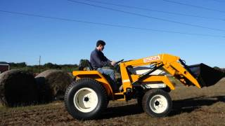demo video of used cub cadet 7234 tractor with loader