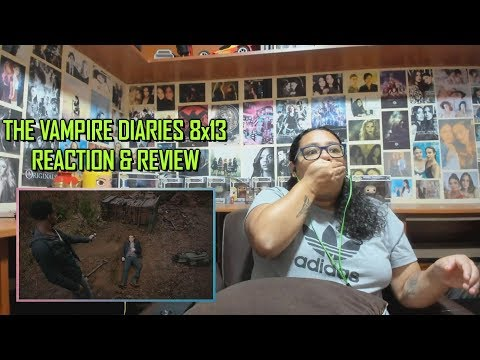 """The Vampire Diaries 8x13 REACTION & REVIEW """"The Lies Will Catch Up With You"""" S08E13 