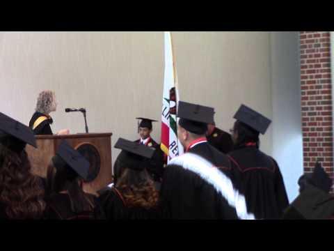 Pacific Law Academy 2014 Graduation Ceremony   Receiving Diplomas