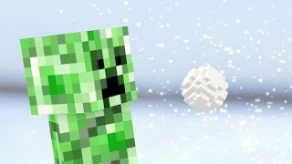 Minecraft в реальной жизни: Снежки с Крипером(Монстры из Майнкрафта тоже любят играть в снежки Подпишись на новые видео ▻ http://bit.ly/mrtvcow English version ▻ http://youtu.be..., 2013-12-26T14:49:02.000Z)