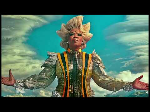 "Oprah on Filming ""A Wrinkle in Time"" in New Zealand"