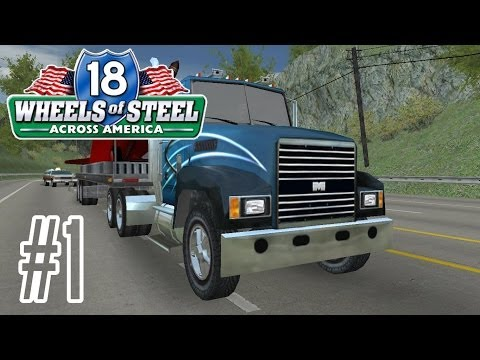 18 Wheels of Steel - 18 стальных колес . Пыль дорог - Перевозки в России  GamePlay