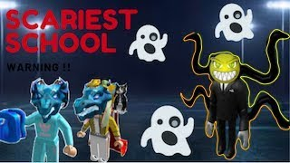 ROBLOX GAMEPLAY: HAUNTED SCHOOL😰! FEAT ZENIA (DON'T GO HERE)😨
