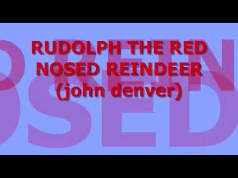 JOHN DENVER - RUDOLPH THE RED NOSED REINDEER