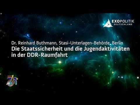 Die Stasi und die DDR-Raumfahrt - Dr. Reinhard Buthmann