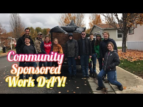 Access Youth Ministries - Community Sponsored Work Day - 4k