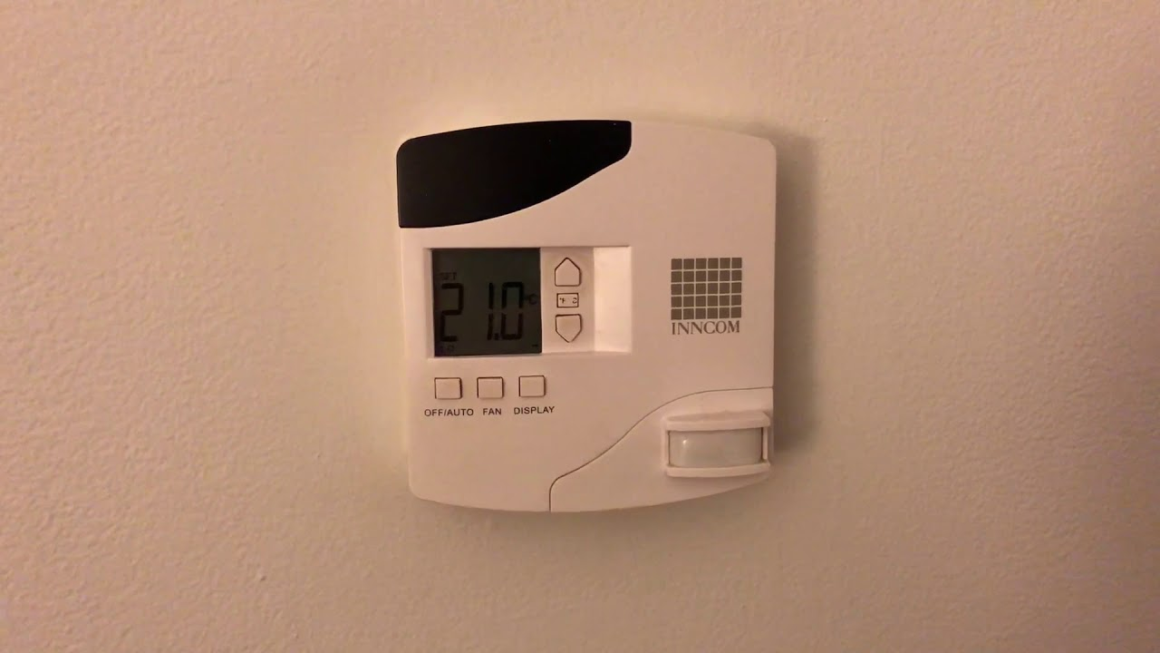 How to enable the EXCLUSIVE VIP mode on the hotel thermostat INNCOM