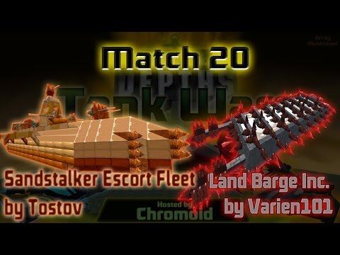Tank Wars Episode 20: Sandstalker Escort Fleet vs Land Barge Inc.