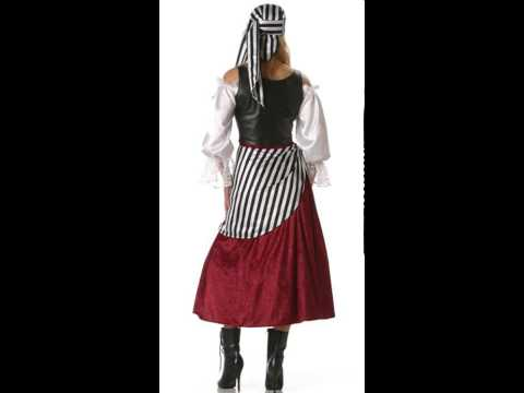 Theatrical Quality Deluxe Pirate Wench Adult Womens Costume