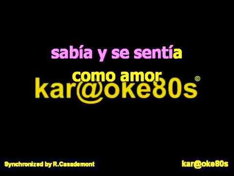 karaoke Solo Parecía Amor Instrumental