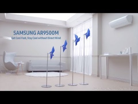 Samsung AR9500M Wind-Free Air Conditioner | Samsung Smart Plaza Bangalore
