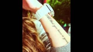 Cher Lloyd - Tattoos