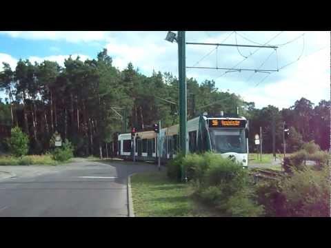 Trams in Potsdam, Germany