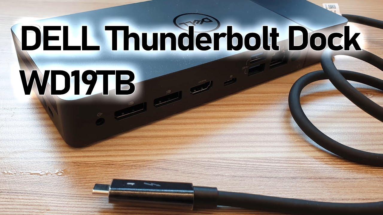 Dock Dell Thunderbolt, WD19Tb, WD19dc, Adapter Dell DA300, 180w - 1