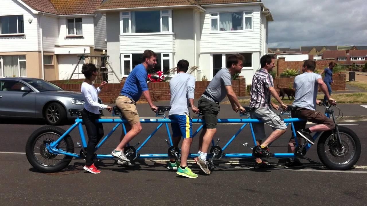 Pearley Bikes Tandem Six