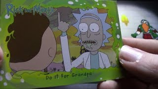 Rick and Morty Trading Cards!