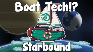 Boat Tech - Starbound Nightly Build
