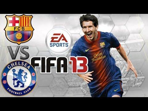 FIFA 13 Barcelona vs Chelsea (1.EP)