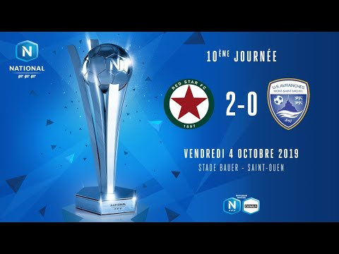 J10 | Red Star FC – US Avranches MSM (2-0)