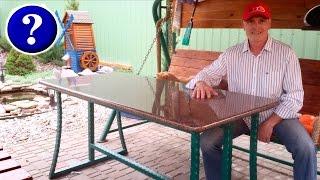 видео Металлические подстолья для стола