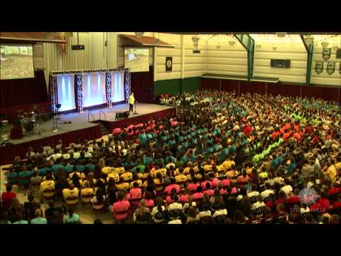 Stephanie Davis - Saturday Morning Keynote - 2013 Steubenville Main Campus 2