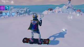 The NEW SNOWBOARD in Fortnite ( Glitch) !! 🗻🏂 | Fortnite