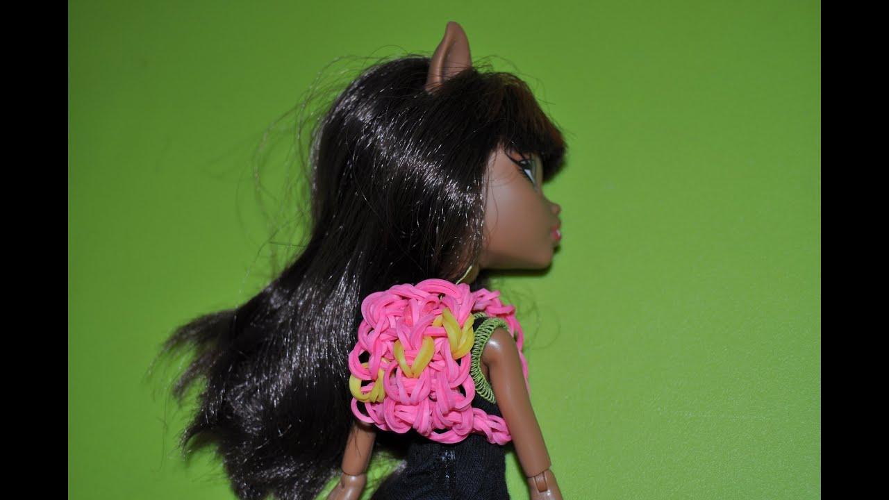 Плетение из резинок рюкзак на куклу рюкзак коалакерри baby