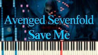[Piano Arrangement] Avenged Sevenfold - Save Me