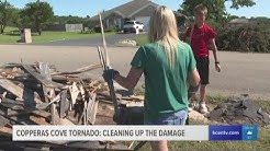 Copperas Cove community cleans up damage from tornado, reacts to storm
